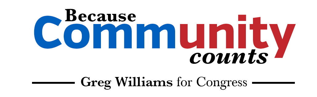 Williams Works - Greg Williams for Congress