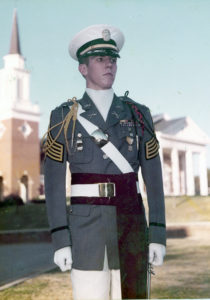 Battalion Commander, class of '79. Hargrave Military Academy